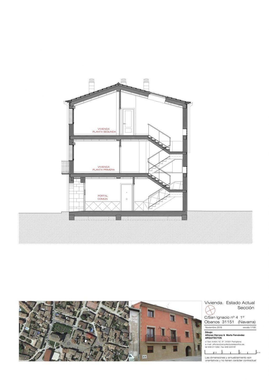 Plano sección