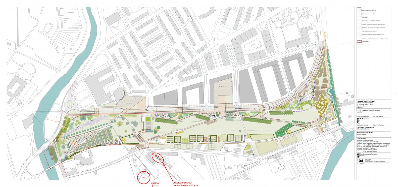 Plano general de desarrollo zona